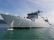 Buques de la Armada Real de Malasia visitan Ciudad Ho Chi Minh