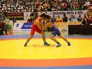 Vietnam se impone en campeonato regional de lucha libre