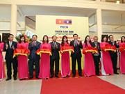VNA inaugura exposición fotográfica sobre relaciones especiales Vietnam- Laos