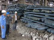 Sector de acero de Vietnam crece un 22,8 por ciento en diez meses