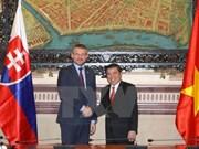 Vietnam y Eslovaquia por intensificar lazos multisectoriales