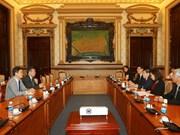 Ciudad Ho Chi Minh reafirma respaldo a inversiones del grupo sudcoreano Huneed Technologies