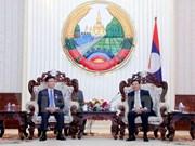 Premier laosiano destaca eficiencia de cooperación jurídica con Vietnam