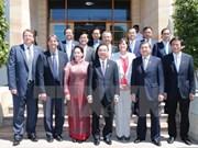 Presidenta del Parlamento vietnamita destaca cooperación científica con Australia