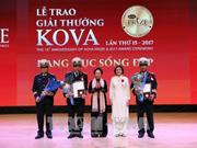 Premios KOVA honra a vietnamitas con destacadas contribuciones a investigación científica