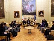 Vietnam e Italia fomentan relaciones legislativas