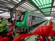 Autoridades de Hanoi restablecen plan para corrida de prueba de línea ferroviaria elevada