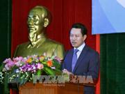 Canciller de Laos visita Academia Diplomática de Vietnam