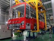 Empresa vietnamita inaugura primera planta de ómnibus de marca nacional