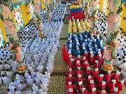 Iglesia de Cao Dai Tay Ninh celebra congreso para tenencia 2017-2022