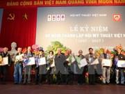 Asociación de Bellas Artes de Vietnam celebra el 60 aniversario de su fundación