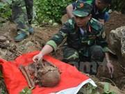 Revisan en Vietnam labores de identificación de restos de mártires