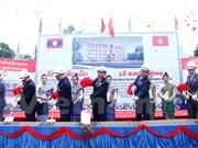 Arranca en Laos construcción de escuela Sithanaxay financiada por Vietnam