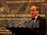Ciudad Ho Chi Minh adquiere experiencias estadounidenses en el desarrollo urbano y emprendimiento