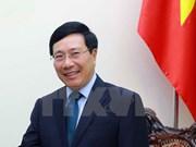 Vicepremier y canciller de Vietnam visitará Sudcorea