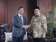 Reitera Indonesia atención al impulso de lazos con Vietnam