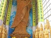 Estatua budista vietnamita establece récord mundial