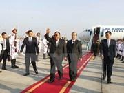 Inicia máximo dirigente partidista y presidente de Laos visita amistosa oficial a Vietnam