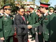Presidente de Laos aboga por estrechar lazos con Vietnam