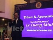 Le Luong Minh terminará su mandato como secretario general de la ASEAN