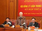 Máximo dirigente partidista de Vietnam exhorta reformas en labores teóricas