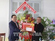 Presidente de FPV extiende felicitaciones de Navidad a comunidad católica
