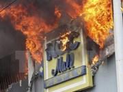 Filipinas reporta 37 muertos en un incendio en Davao
