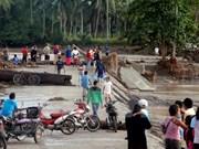 Número de muertos por tifón Tembin continúa aumentando en Filipinas