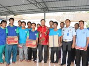 Vietnam protege derechos de pescadores connacionales detenidos en Indonesia