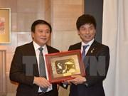 Secretario del Comité Central del PCV realiza visita de trabajo en Japón