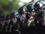 Indonesia refuerza sus fuerzas de seguridad para enfrentar amenazas de EI