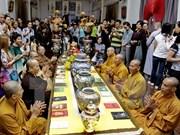 Provincia vietnamita envía monjes al distrito insular de Truong Sa