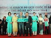 Alud de turistas extranjeros a Hanoi en asueto de Nuevo Año