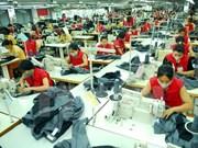 Vietnam aspira a 33 mil 500 millones de dólares de exportaciones textiles en 2018