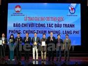 Recibe VNA premios de prensa nacional con lucha contra corrupción y despilfarro