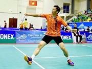 Badmintonistas vietnamitas competirán en torneo Masters en Tailandia
