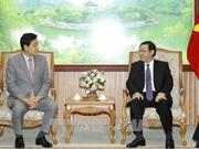 Vicepremier de Vietnam llama a inversión del grupo sudcoreano en finanzas