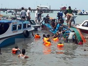 Indonesia: 13 muertos en naufragio ocurrido en Sumatra