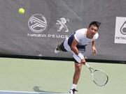 Tenista vietnamita se despide de torneo Hong Kong Futures