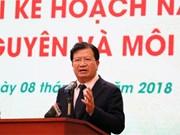 Gobierno de Vietnam urge a perfeccionar la gestión estatal en recursos naturales y medioambiente