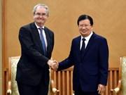 Vietnam aprecia apoyo del Banco de Inversión de Europa
