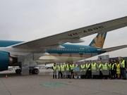 Vietnam Airlines opera vuelos a Alemania con Airbus A350