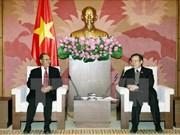 Vietnam y Laos comparten experiencia en elaboración de leyes