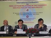 Simposio sobre nexos Vietnam-la India en el cambio de geopolítica Indo-Pacífico