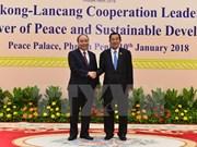 Premier de Vietnam llegar a Camboya para asistir a Cumbre de Cooperación Mekong-Lancang