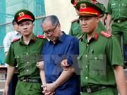 Corte realiza interrogación a Pham Cong Danh