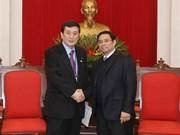 Japón aprecia contribuciones de Vietnam a APPF