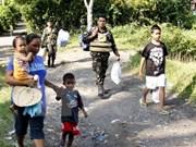 Miles de habitantes filipinos afectados por erupción del volcán Mayon