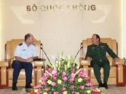 Vietnam y Estados Unidos consolidan relaciones en defensa nacional
