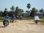Facilita traslado a través de línea fronteriza entre Vietnam y Camboya